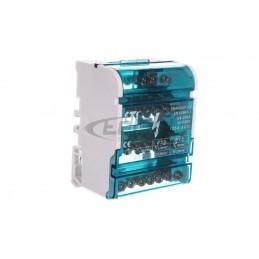 Przekaźnik zaniku i asymetrii faz z kontrolą styków stycznika 10A 1Z 4sek 40-80V CZF2-BR