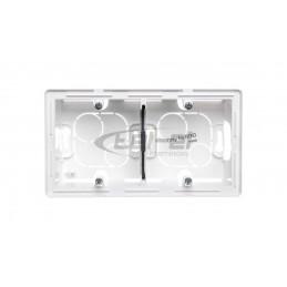 Czujnik mikrofalowy 1200W 360 stopni IP20 prostokątny biały mini B52-SES72WH