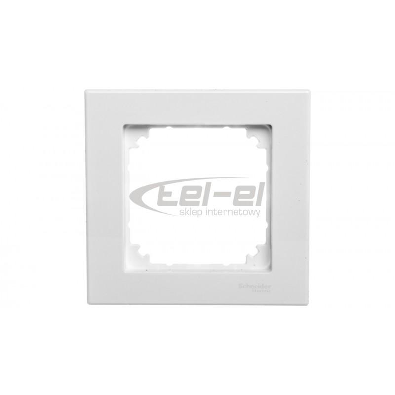 Simon 54 Łącznik bryzgoszczelny świecznikowy IP44 z podświetleniem biały DW5BL.01/11