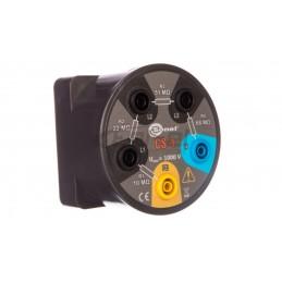 Dzwonek elektromechaniczny dwutonowy 230V IP20 80dB biały 03NBI