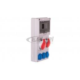 Wyłącznik różnicowoprądowy 4P 25A 0,03A typ AC F204 AC-250,03 2CSF204001R1250
