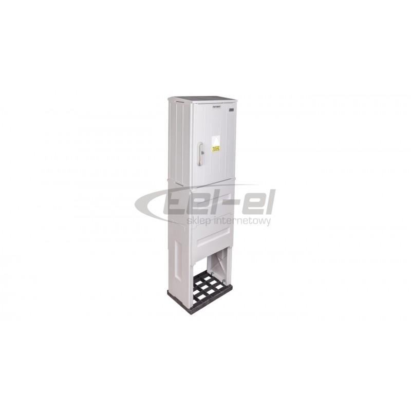 Cedar Gniazdo hermetyczne podwójne z/u 16A IP44 białe Nt-230H NT230H01