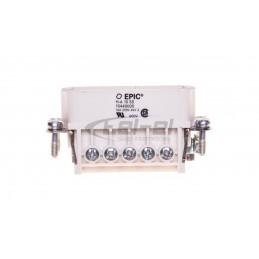 Cedar Łącznik jednobiegunowy hermetyczny IP44 10A biały WNt-100C WNT100C01