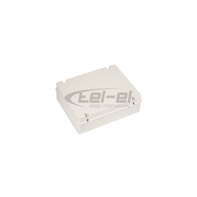 Rozdzielnica ELEGANT EP-nt 1/12 n/t biała 1x12 IP40 drzwi transparentne dymne 2423-01