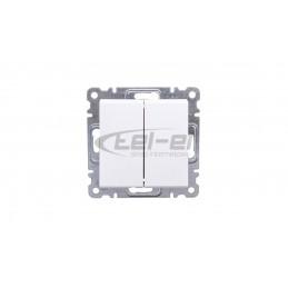 Rozdzielnica modułowa 2x12 natynkowa IP40 Golf (drzwi transparentne) VS212TD