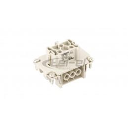 Szybkozłączka 5x 0.5-2.5mm2 transparentnażółta 2273-205 blister 20szt 2273-205996-020