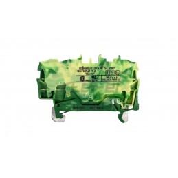 Szybkozłączka 2x0.2-4mm2 transparentna  pomarańczowa 221-412 blister 16szt 221-412996-016