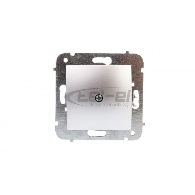 Simon Basic Gniazdo TV-DATA typ F 5-1000 MHz grafit matowy BMAD1.01/28