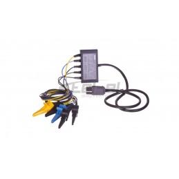 Przekaźnik mocy wtykowy. Zelio RPM. 2 styki przełączne. 120 V AC RPM21F7