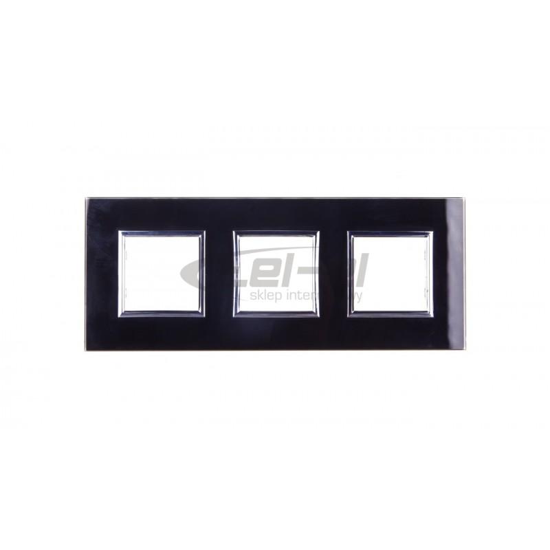 Simon Basic Gniazdo telefoniczne RJ11 podwójne srebrny mat BMTF2.02/43