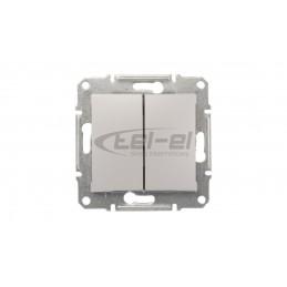 DECO Ściemniacz elektroniczny przyciskowo-obrotowy brązowy metalik 9DRO-1