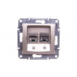 DECO Sterownik roletowy elektroniczny (sterowanie lokalne) grafitowy 11DSR-1