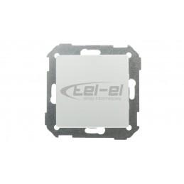 FLEXI Ściemniacz elektroniczny przyciskowo-obrotowy beżowy 1FRO-1