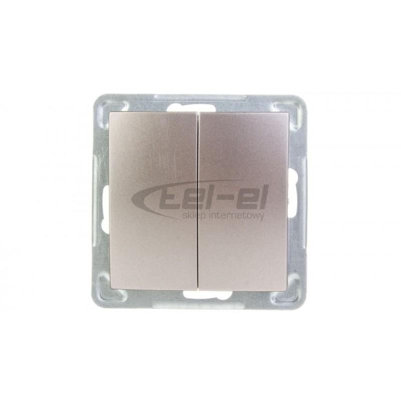 Rozdzielnica hermetyczna modułowa 1x8 natynkowa IP65 RH-8/ZB 36.10