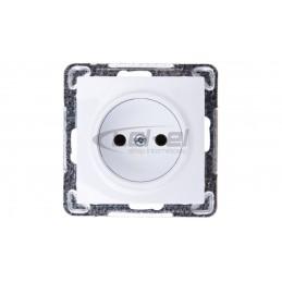 Sygnalizator akustyczno-optyczny wewnętrzny LED w kolorze niebieskim SPW-220 BL