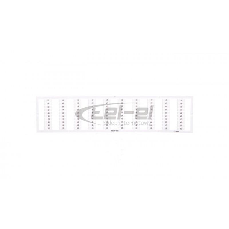 CELIANE Ramka biała żłobkowana 3-modułowa 069013