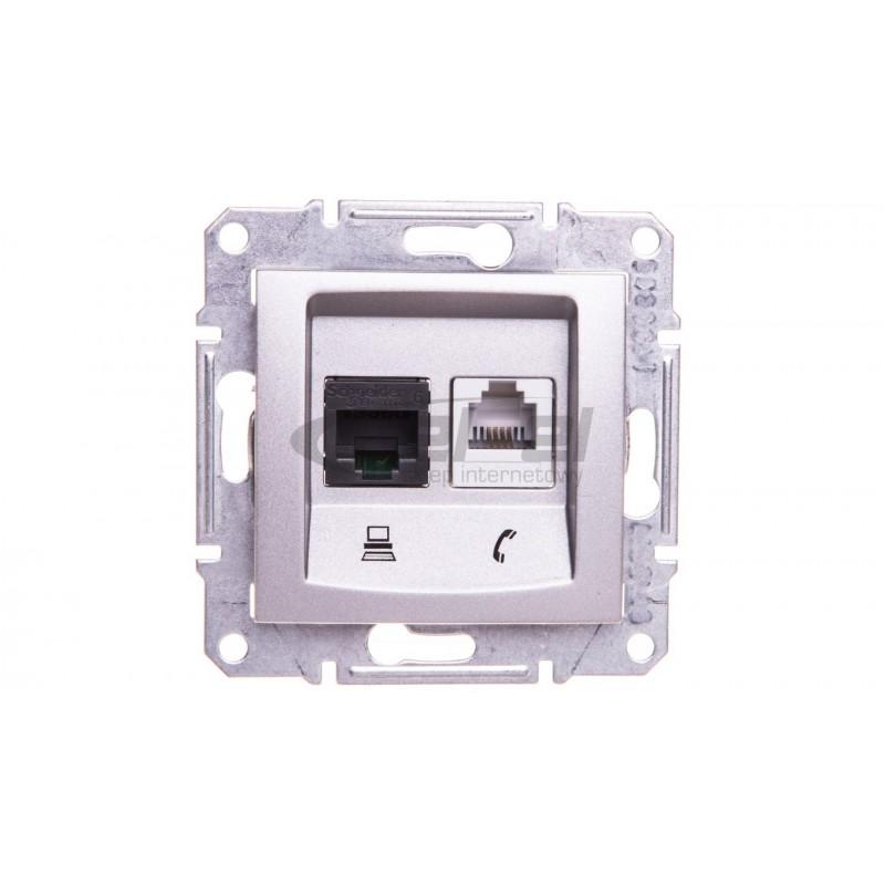Oprawa LED MUNA PT 230V AC czujnik ZLO niebieska 02-222-45 LED10222245