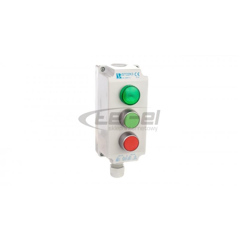 Oprawa LED MUNA PT 230V AC ZLO biała zimna 02-221-41 LED10222141