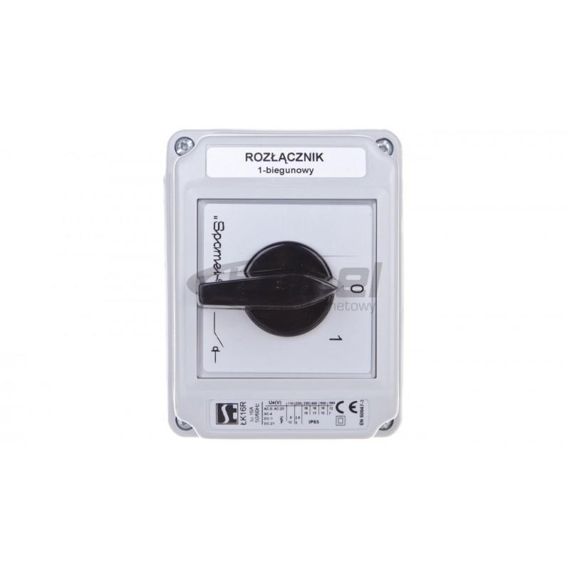 Oprawa LED MUNA PT 230V AC radio ZLO czerwona 02-224-43 LED10222443