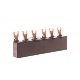 Przycisk modułowy 20A 1R z lampką LED 110400V czerwoną LP472 412940