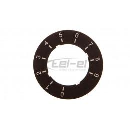 Oprawa sufitowa punktowa GU10 50W STOBI DLP 50-B czarna 26830