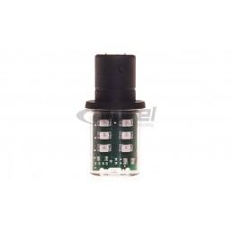 Dioda LED BA15d 24V zielony...