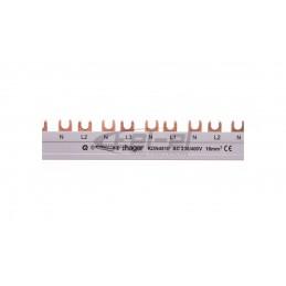 PLEXO55 Adapter do mechanizmów  MOSAIC szary  biały 069580
