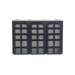 Puszka odgałęźna nt bez zacisków 93x93x62mm szara IP6667 KF 0200 G 62000041