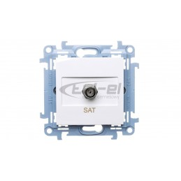 Puszka podtynkowa samogasnąca IP20 zółta PK-60 K-G N 0201-0N 40szt