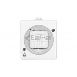 Simon 54 Premium Puszka natynkowa pojedyncza złoty mat DSC/44