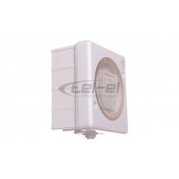 Simon 54 Premium Puszka natynkowa pojedyncza 40 mm (1 szt. DSC/.. - 2 elementy) brąz mat DSC/46
