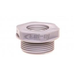 Simon Classic Gniazdo głośnikowe pojedyncze aluminium metalizowane MGL2.02/26
