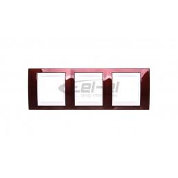 Panel krosowy bez płyty czołowej 1U wysuwany biały DN-96200