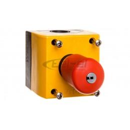 Bezprzewodowy sygnalizator wewnętrzny z sygnalizacją optyczną i akustyczną czerwony. PIEZO ASP-205 R