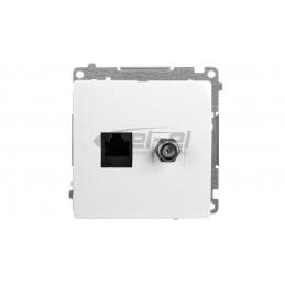 AS Łącznik żaluzjowy /z blokadą mechaniczną/ srebro ŁP-7GB/m/18