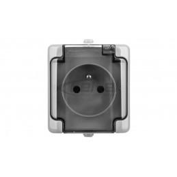 SONATA Regulator temperatury /czujnik podłogowy/ biały RTP-1R/m/00