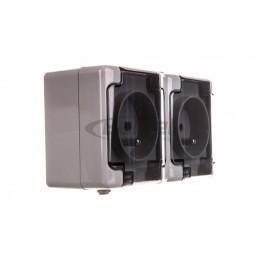 SONATA Regulator temperatury /czujnik podłogowy/ ecru RTP-1R/m/27