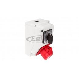 Wyłącznik nadprądowy 3P C 6A 6kA AC DE93C06 690824